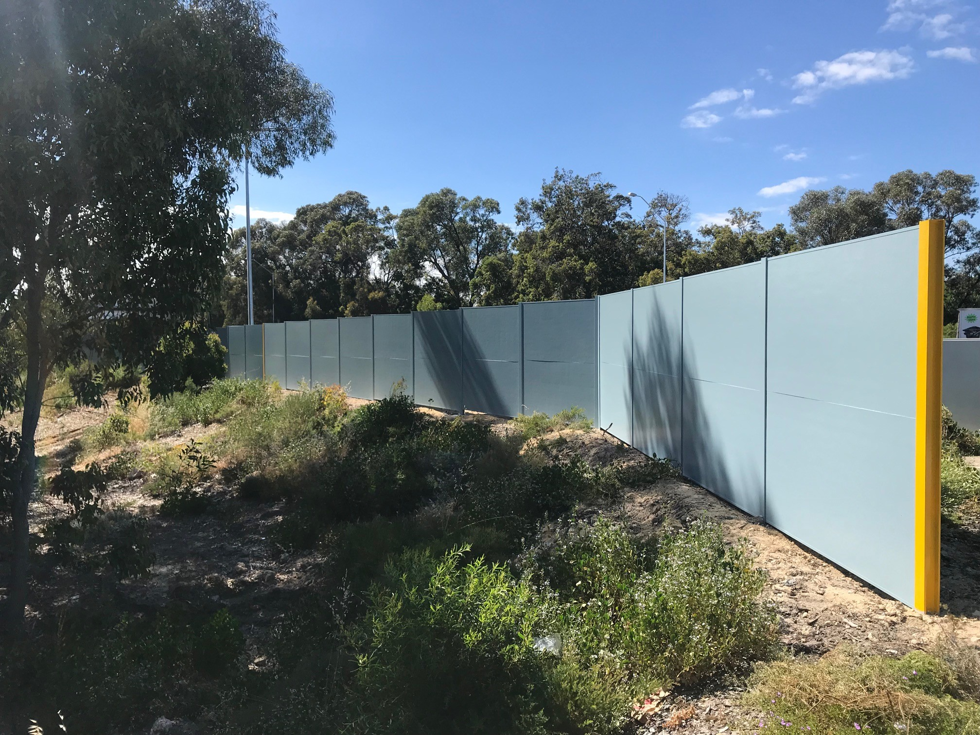 Commercial Acoustic Noise Walls Amp Fencing Perth Wa Road